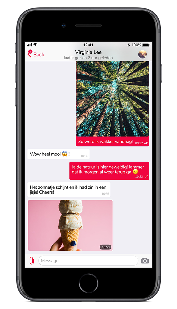 iPhone private chat Preview